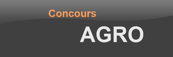 Concours Agro