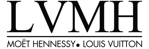 Logo groupe LVMH - Moët Hennessy . Louis Vuitton